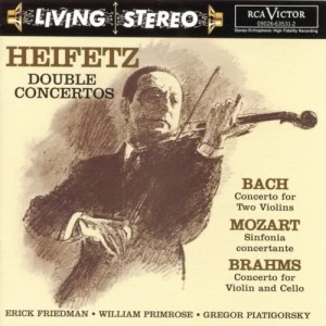 Sir Malcolm Sargent的專輯Bach: Concerto for Two Violins/Mozart: Sinfonia concertante/Brahms: Double Concerto