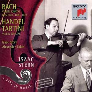 "Listen to Violin Sonata in G Minor, B.g10 ""Didone abbandonata"": II. Allegro commodo song with lyrics from Isaac Stern"