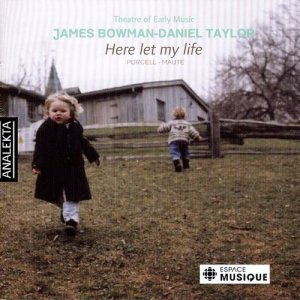 Album Purcell: Here Let My Life from James Bowman