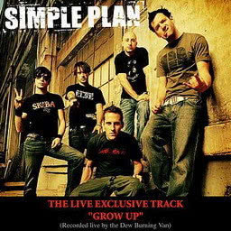 Simple Plan的專輯Grow Up (Live Burning Van Version)