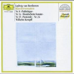 "Wilhelm Kempff的專輯Beethoven: Piano Sonatas Nos.8 ""PathActique"", 14 ""Moonlight"", 15 ""Pastorale"" & 24"