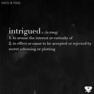 Intrigued dari Nico & Vinz