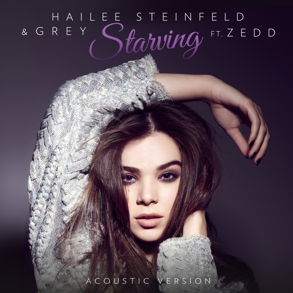 Starving 2016 Hailee Steinfeld; Grey; Zedd