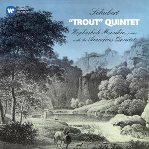 """Album Schubert: Piano Quintet, D. 667 """"Trout"""" from Amadeus Quartet"""