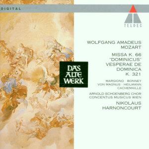 """Album Mozart: Missa Solemnis """"Dominicus"""" from Arnold Schoenberg Chor"""
