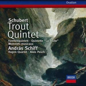 Hagen Quartett的專輯Schubert: Trout Quintet; 6 Moments musicaux