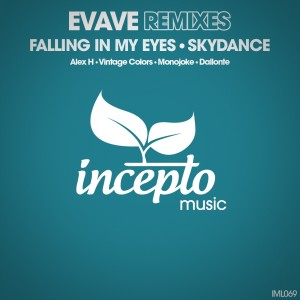 Album Falling in My Eyes / Skydance (Remixes) from Evave