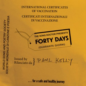 Album Forty Days from Paul Kelly