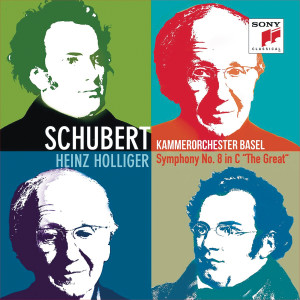 """Album Schubert: Symphony No. 8 in C Major, """"The Great"""" from Kammerorchester Basel"""