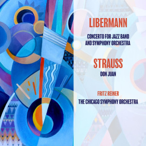 Album Liebermann: Concerto for Jazz Band and Symphony Orchestra / Richard Strauss: Don Juan from The Sauter-Finegan Orchestra