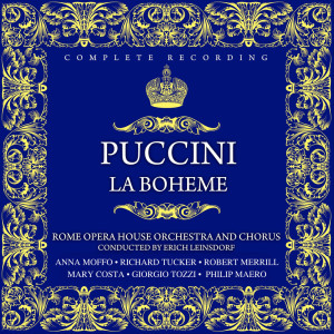 Album Giacomo Puccini: La Boheme from Richard Tucker