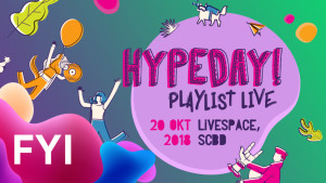Jadi Hype di Hypeday Playlist Live!