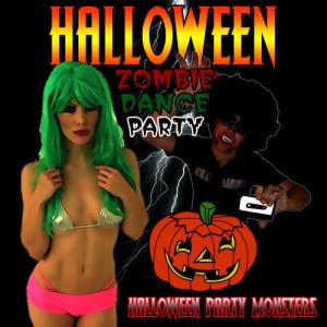 Halloween Party Monsters的專輯Halloween Zombie Dance Party