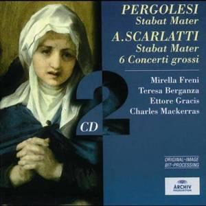 Album Pergolesi: Stabat Mater / Scarlatti: Stabat Mater; 6 Concerti grossi from Ettore Gracis