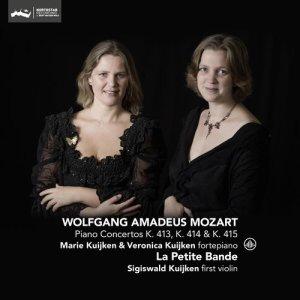 Album Mozart: Piano Concertos K. 413, K. 414 & K. 415 from La Petite Bande
