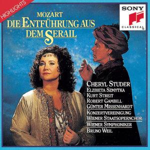 """Cheryl Studer的專輯Mozart: Die Entfuhrung aus dem Serail """"Highlights"""""""