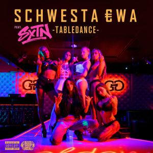 Album Tabledance from Schwesta Ewa