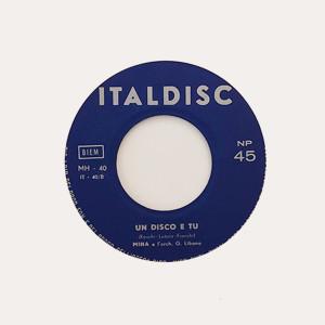 Un Disco E Tu (1959)