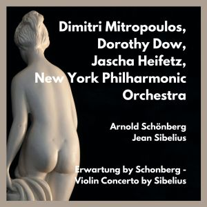 Album Erwartung by schonberg - violin concerto by sibelius from Jascha Heifetz
