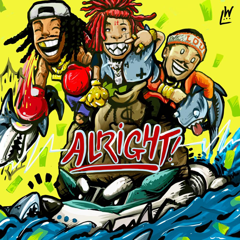 Alright (feat. Trippie Redd & Preme) 2019 Wiz Khalifa; Preme; Trippie Redd