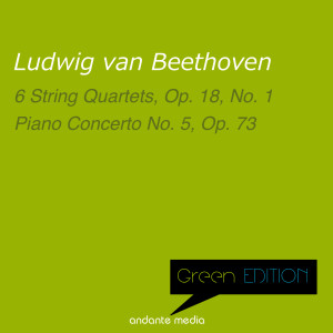 Album Green Edition - Beethoven: 6 String Quartets, Op. 18 No. 1 & Piano Concerto No. 5, Op. 73 from Peter Toperczer