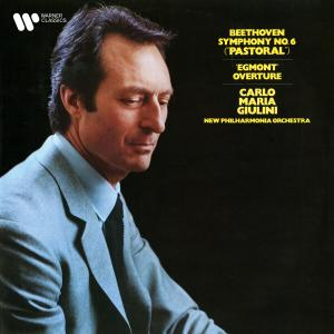 """Album Beethoven: Symphony No. 6 """"Pastoral"""" & Overture from Egmont from Carlo Maria Giulini"""