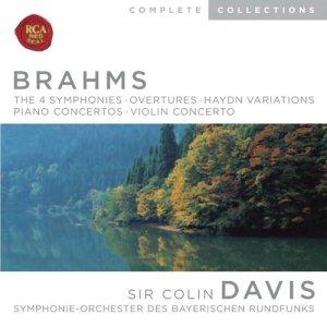 Brahms: Symphonies; Overtures; Haydn Variations; Piano Concertos; Violin Concerto