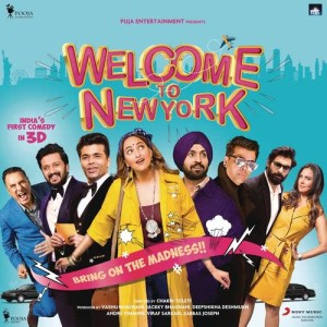 Album Welcome to NewYork (Original Motion Picture Soundtrack) from Sajid Wajid