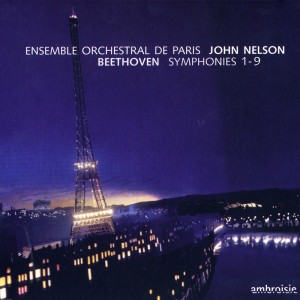 Album Beethoven: Symphonies Nos. 1 - 9 from Ensemble Orchestral de Paris