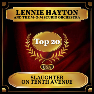 Album Slaughter on Tenth Avenue from The MGM Studio Orchestra