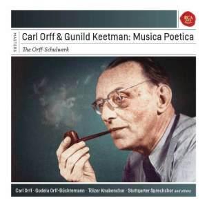 Album Carl Orff & Gunhild Keetman: Musica Poetica from Tölzer Knabenchor