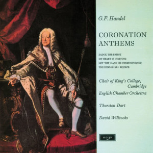 Album Handel: Coronation Anthems from The Choir of King's College, Cambridge
