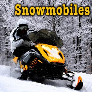 Sound Ideas的專輯Snowmobiles Sound Effects