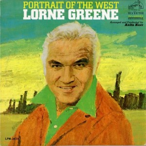 Album Portrait of the West from Lorne Greene