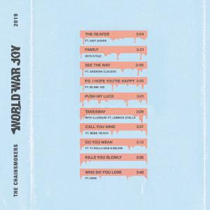 The Chainsmokers的專輯World War Joy