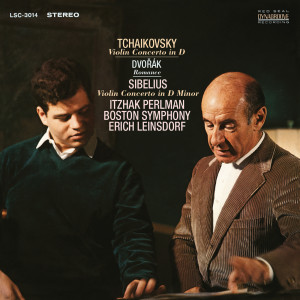 Itzhak Perlman的專輯Tchaikovsky: Violin Concerto in D Major, Op. 35 & Dvorák: Romance in F Minor, Op. 11