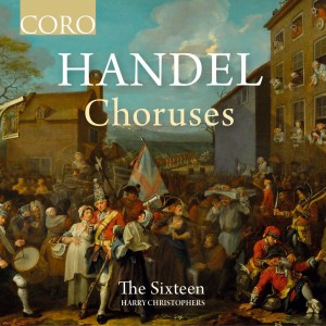 Album Handel Choruses from The Sixteen