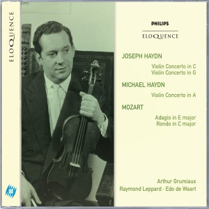 Joseph Haydn: Violin Concertos in C & G; Michael Haydn: Violin Concerto in A