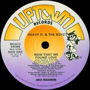 Album Now That We Found Love from Heavy D & The Boyz