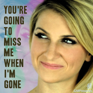 Album You're Gonna Miss Me When I'm Gone (Cups) (Anna Kendrick / Pitch Perfect, Glee Cover) from Jocelyn Scofield