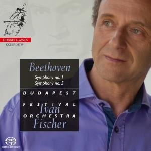 Album Beethoven Symphonies Nos. 1 & 5 from Iván Fischer