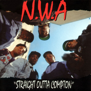 Album Straight Outta Compton from N.W.A.
