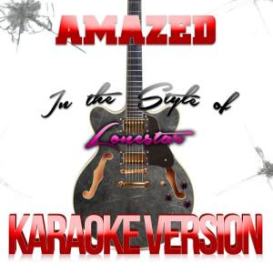 Karaoke - Ameritz的專輯Amazed (In the Style of Lonestar) [Karaoke Version] - Single