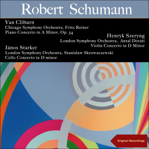 Album Schumann: Piano Concerto in a Minor, Op. 54 - Violin Concerto in D Minor - Cello Concerto in D Minor from Chicago Symphony Orchestra
