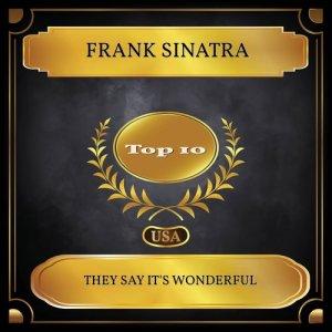 Frank Sinatra的專輯They Say It's Wonderful