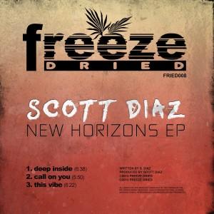 Album New Horizons EP from Scott Diaz