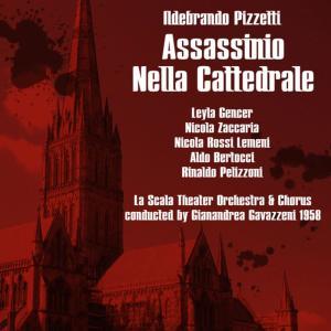 """Album Pizzetti: Assassinio Nella Cattedrale """"Murder In The Cathedral"""",1958 from Nicola Zaccaria"""