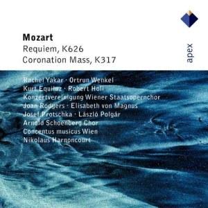 Album Mozart : Requiem & Mass No.16, 'Coronation' (-  Apex) from Kurt Equiluz