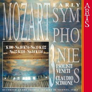 I Solisti Veneti的專輯W.A. Mozart: Early Symphonies - Vol. 3