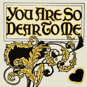 Album You Are So Dear To Me from Bobby Darin